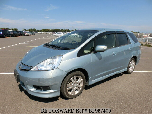 used 2012 honda fit shuttle hybrid bf957400 for sale image