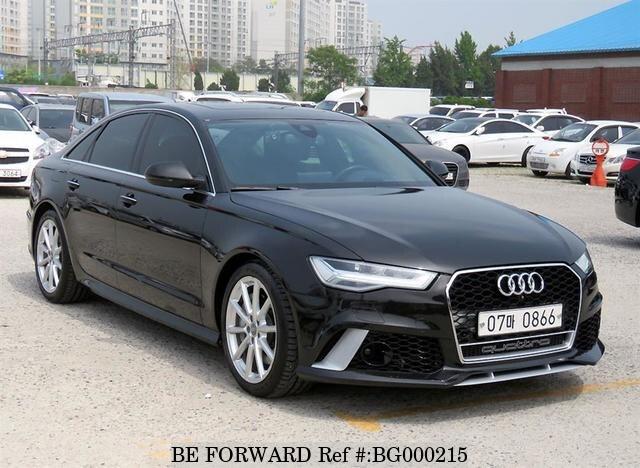 2016 Audi A6 40tfsi Usados En Venta Bg000215 Be Forward