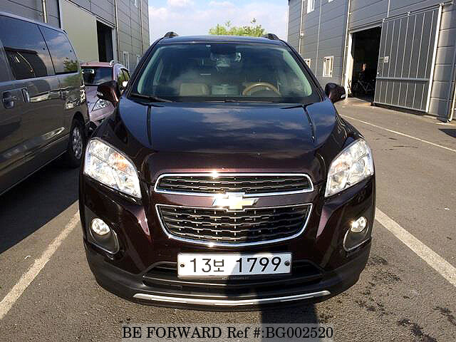 used 2014 chevrolet trax for sale bg002520 be forward. Black Bedroom Furniture Sets. Home Design Ideas