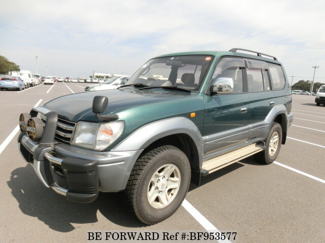 Used 1996 TOYOTA LAND CRUISER PRADO BF953577 For Sale
