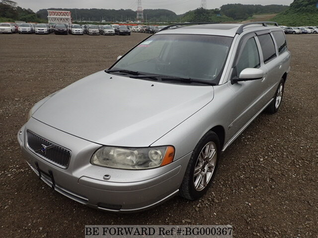 Used 2005 VOLVO V70 2 4/CBA-SB5244W for Sale BG000367 - BE