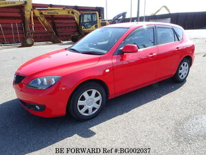 Used 2007 MAZDA AXELA SPORT BG002037 for Sale