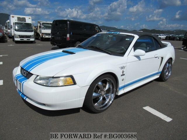 Used 2000 Ford Mustang Convertible Gf 1farwp4 For Sale Bg003688 Be