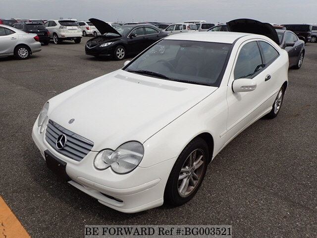 Used 2003 Mercedes Benz C Class C200 Kompressor Sports Coupe Gh
