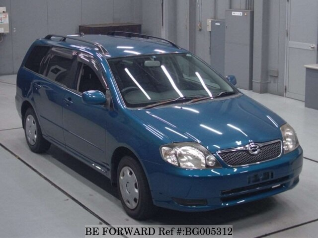 About This 2001 TOYOTA Corolla Fielder (Price:$1,671)