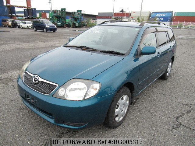 Used 2001 TOYOTA COROLLA FIELDER BG005312 For Sale