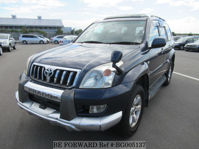 Used 2003 TOYOTA LAND CRUISER PRADO BG005137 For Sale