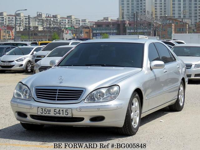 used 2002 mercedes benz s class s320 for sale bg005848. Black Bedroom Furniture Sets. Home Design Ideas