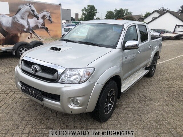 2009 toyota hilux sports pickup 3 0 d 4d d 39 occasion en promotion bg006387 be forward. Black Bedroom Furniture Sets. Home Design Ideas