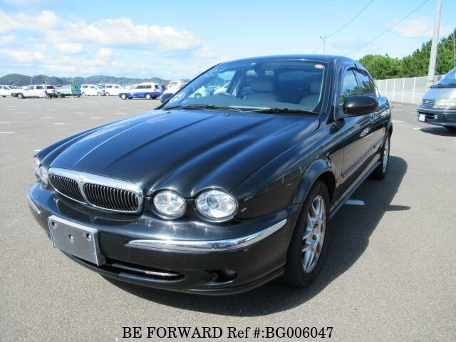Used 2002 JAGUAR X TYPE BG006047 For Sale