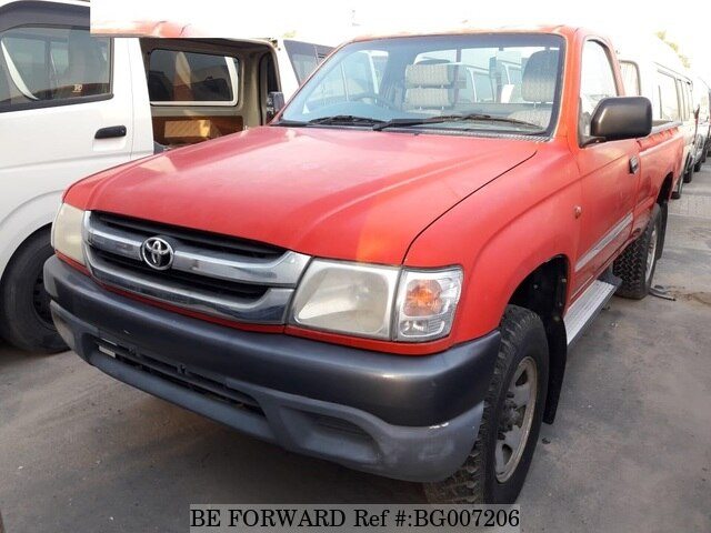 Used 2002 TOYOTA HILUX BG007206 for Sale