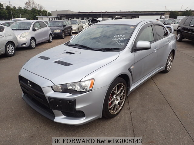Used 2007 MITSUBISHI LANCER EVOLUTION X BG008143 For Sale