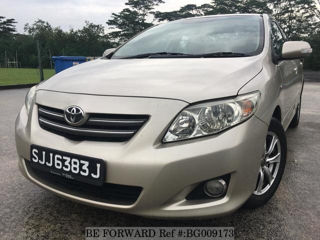 Used 2008 TOYOTA COROLLA ALTIS for Sale BG009173 - BE FORWARD