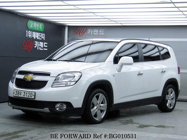 Used 2013 Chevrolet Orlandoltz For Sale Bg010531 Be Forward