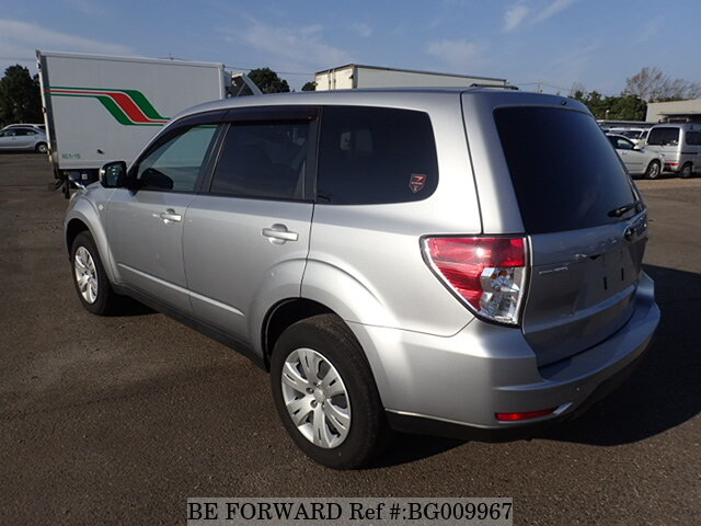 used 2012 subaru forester 2 0x dba shj for sale bg009967 be forward. Black Bedroom Furniture Sets. Home Design Ideas