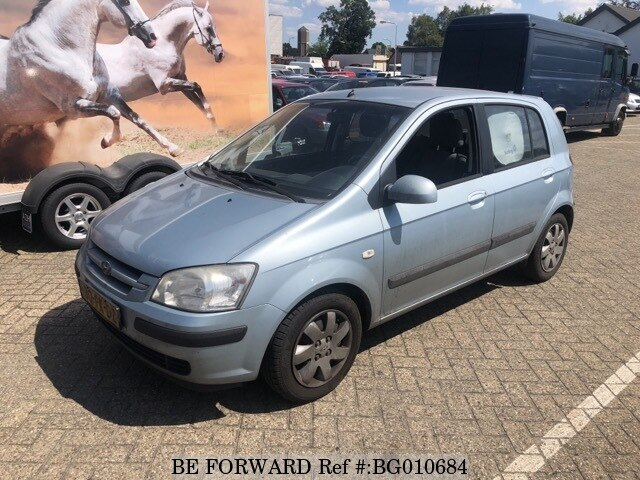 used 2004 hyundai getz 1 3 for sale bg010684 be forward. Black Bedroom Furniture Sets. Home Design Ideas