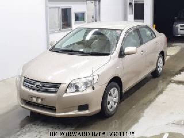 About This 2008 TOYOTA Corolla Axio (Price:$2,778)