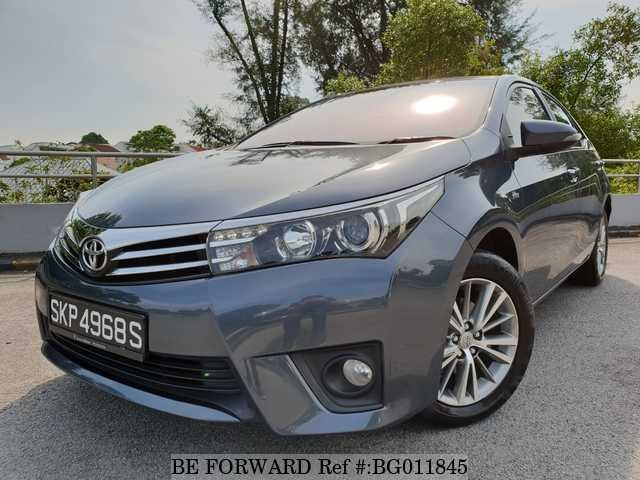 Used 2014 TOYOTA COROLLA ALTIS BG011845 For Sale