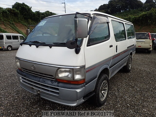 b6541fad7c Used 1996 TOYOTA HIACE VAN SUPER GL KC-LH119V for Sale BG011779 - BE ...