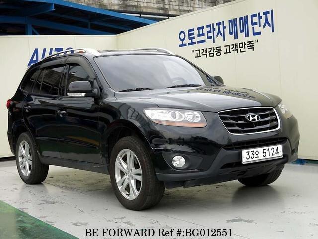 Used 2010 Hyundai Santa Femlx For Sale Bg012551 Be Forward
