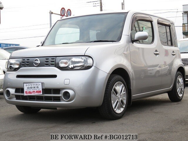 Used 2011 Nissan Cube 1 5 15x Party Red Selection Dba Z12 For Sale