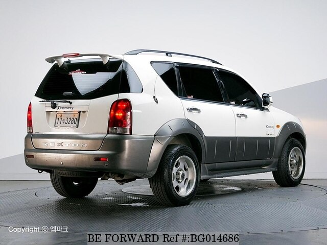 2002 ssangyong rexton rx290 d 39 occasion en promotion bg014686 be forward. Black Bedroom Furniture Sets. Home Design Ideas