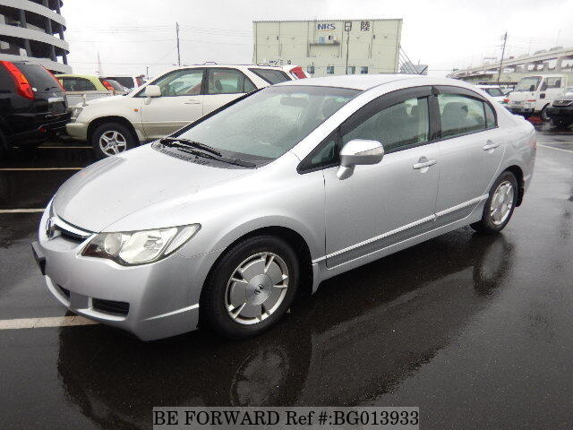 Used 2005 HONDA CIVIC HYBRID BG013933 For Sale
