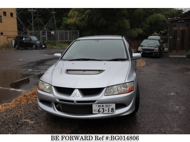 Used 2003 MITSUBISHI LANCER EVOLUTION BG014806 For Sale