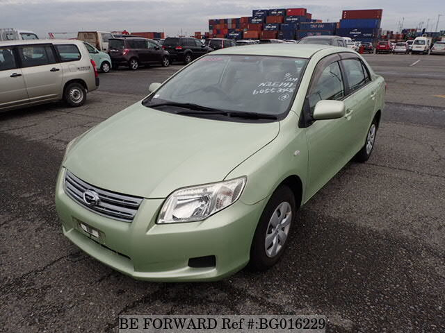 About This 2007 TOYOTA Corolla Axio (Price:$2,478)