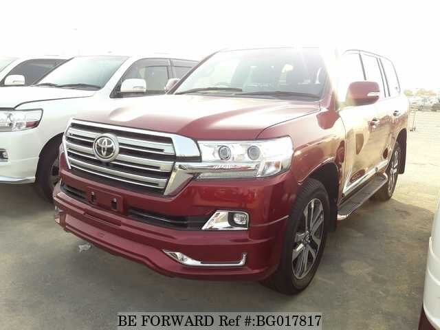 Used 2017 Toyota Land Cruiser For Sale Bg017817 Be Forward