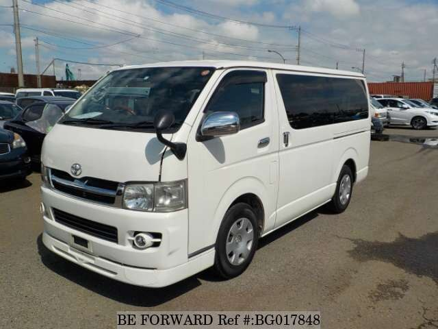 931c6426454523 Used 2006 TOYOTA HIACE VAN for Sale BG017848 - BE FORWARD