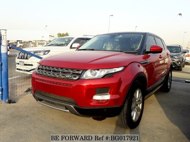 Used 2015 Land Rover Range Rover Evoque For Sale Bg017921 Be Forward