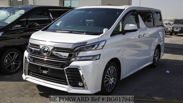 Used 2016 Toyota Vellfire For Sale Bg017943 Be Forward