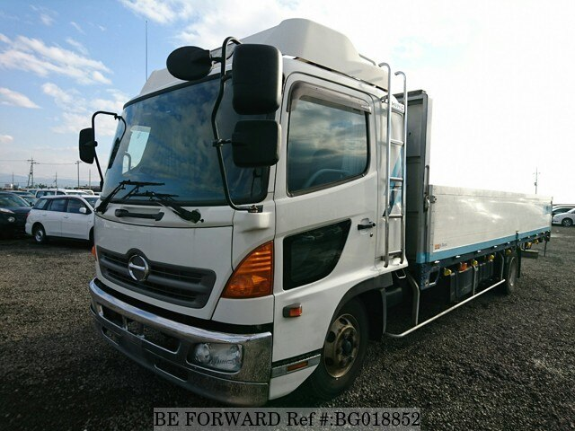 Used 2005 HINO RANGER/PB-FD8JLFG for Sale BG018852 - BE FORWARD