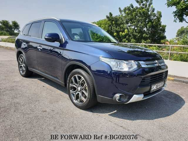 Used 2015 MITSUBISHI OUTLANDER for Sale BG020376 - BE FORWARD