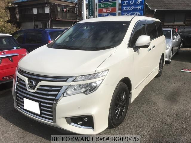 Used 2016 Nissan Elgrand Bg020452 For