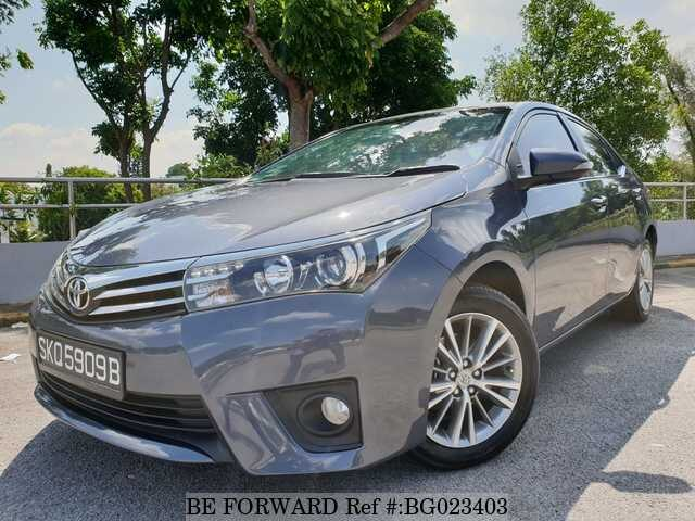 About This 2014 TOYOTA Corolla Altis (Price:$8,820)