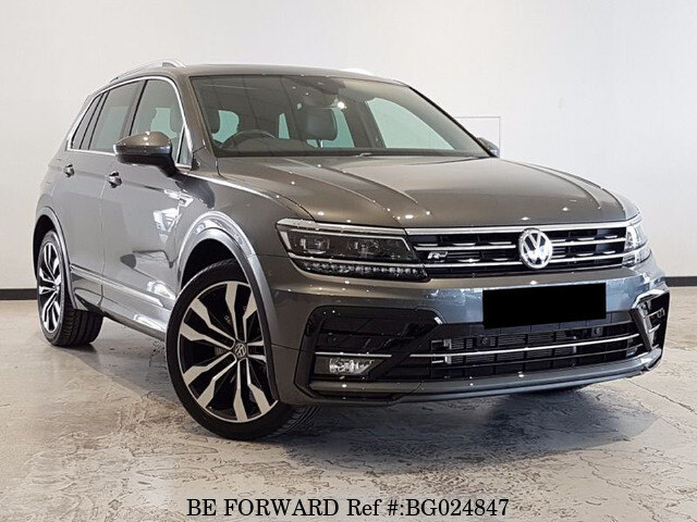 used 2018 volkswagen tiguan auction grade 4 5 auto petrol for sale bg024847 be forward. Black Bedroom Furniture Sets. Home Design Ideas