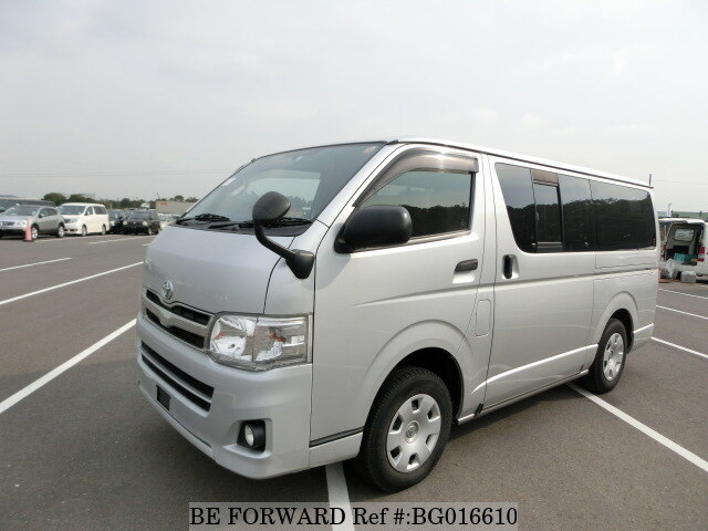 91230f201b Used 2013 TOYOTA HIACE VAN LONG DX GL PACKAGE LDF-KDH206V for Sale ...