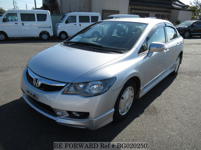 Used 2008 HONDA CIVIC HYBRID BG020250 For Sale