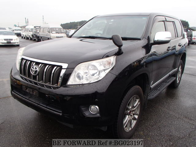 Used 2012 TOYOTA LAND CRUISER PRADO BG023197 For Sale