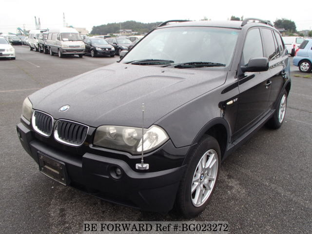 Used 2004 Bmw X3 2 5i Gh Pa25 For Sale Bg023272 Be Forward
