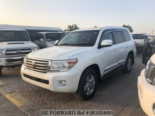 Perfect Used 2012 TOYOTA LAND CRUISER BG024891 For Sale