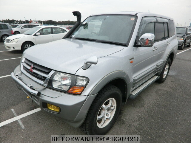 Used 2002 MITSUBISHI PAJERO BG024216 For Sale