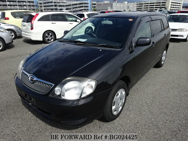 About This 2001 TOYOTA Corolla Fielder (Price:$1,329)