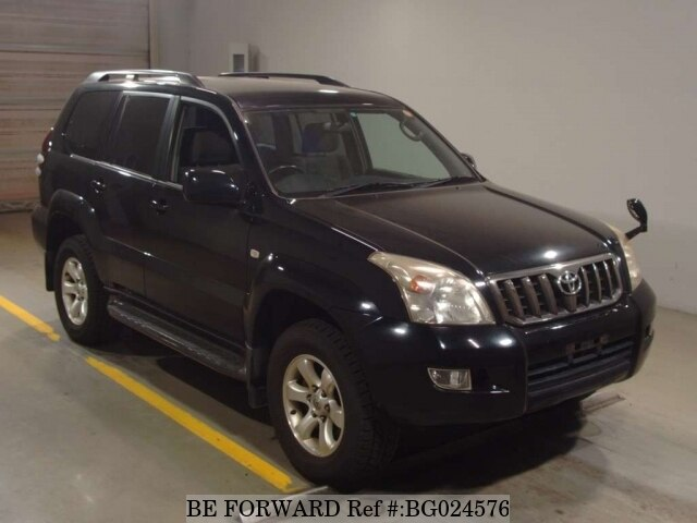 Used 2007 TOYOTA LAND CRUISER PRADO BG024576 For Sale