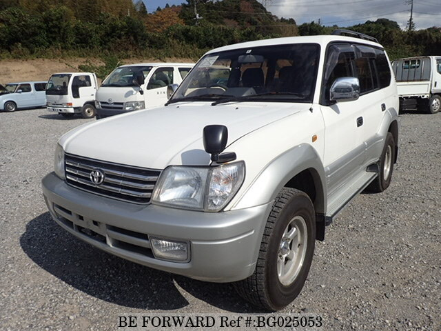 About This 2000 TOYOTA Land Cruiser Prado (Price:$5,908)