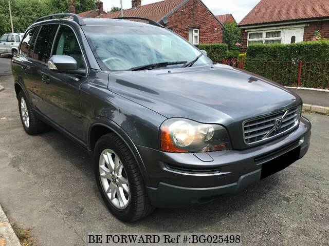used 2007 volvo xc90 auction grade 4 5 auto petrol for sale bg025498 be forward. Black Bedroom Furniture Sets. Home Design Ideas