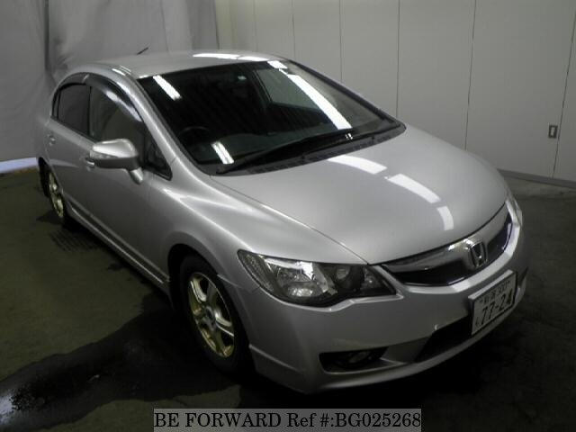 Used 2010 HONDA CIVIC HYBRID BG025268 For Sale