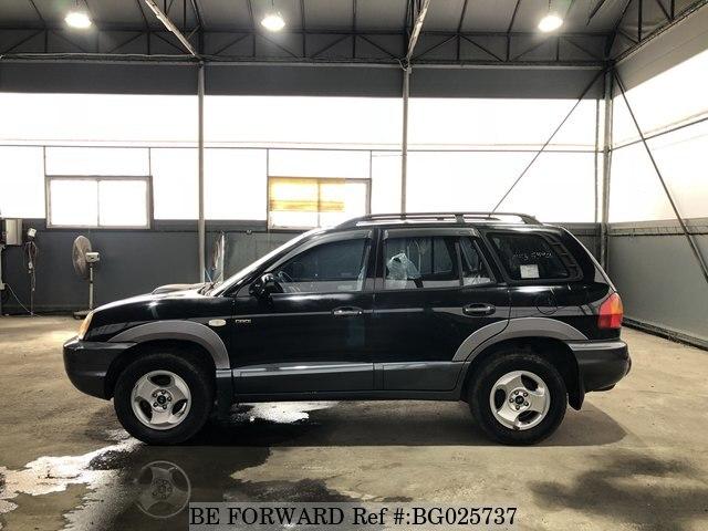 Used 2002 Hyundai Santa Fe For Sale Bg025737 Be Forward